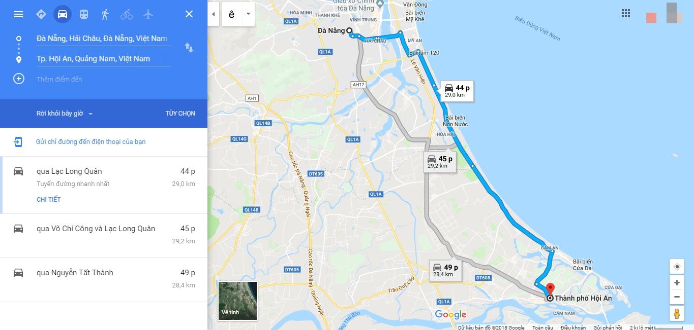Đà Nẵng đi Hội An bao lâu?