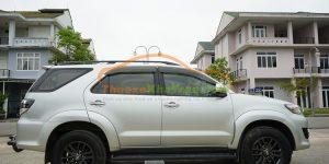 Thuê xe 7 chỗ Đà Nẵng Toyota Fortuner