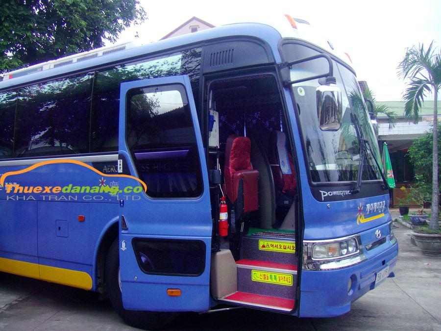 Thuê xe 45 Chỗ Huyndai Hi Class tại Đà Nẵng
