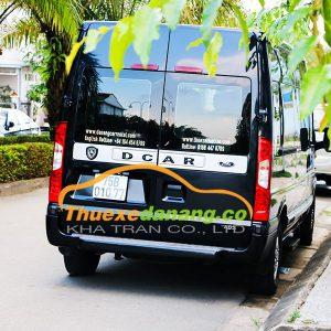 Cho thuê xe Dcar Limousine Ford Transit 9 chỗ tại Đà Nẵng, Huế, Hội An