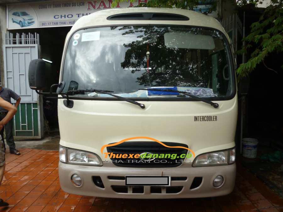 Thuê xe 29 Chỗ Huyndai County tại Đà Nẵng