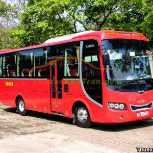 Thuê xe 29 chỗ Samco Isuzu tại Đà Nẵng