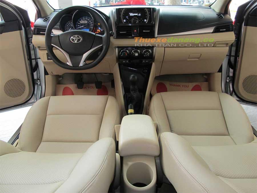 Nội thất xe 4 chỗ Toyota Vios