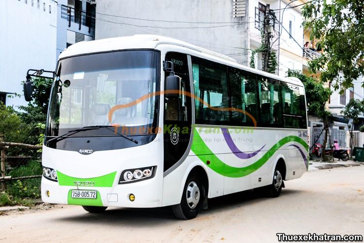 Thuê xe du lịch 35 chỗ tại Đà Nẵng